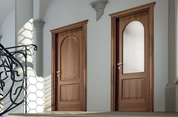 Porte classiche per interni for Interni case classiche