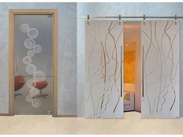 porte in vetro MR Art Design