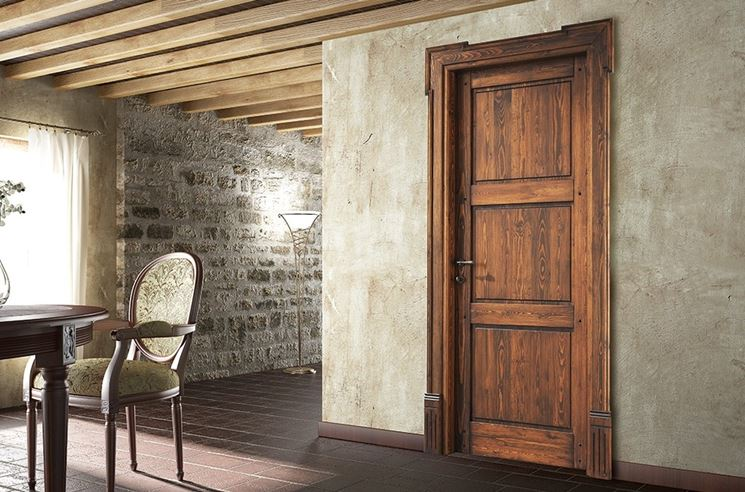 Differenza tra porte tamburate e in legno massello